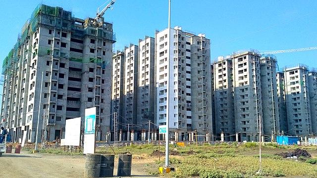 Group_D_officer's_quarters_under_construction_in_Amaravati